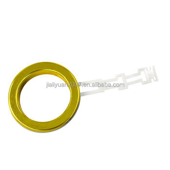 curtain tape with rod ring with pp tail