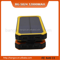 Super Powerful Battery Charger Power Bank 12000mah, 12000 mah solar power bank for led light