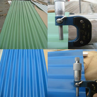 corrugated colored steel metal roof /roofing tile metal steel manufacturer in China