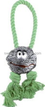 Wholesale Cartoon Design Rope/Rubber Dog Toy