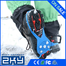New Arrival Anti Slip Snow Ice Climbing Spikes Grips Crampon Cleats 5-Stud Shoes Cover