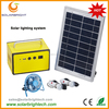 Solarbright portable small power solar energy mini rechargeable led home solar power system to generate electricity for home