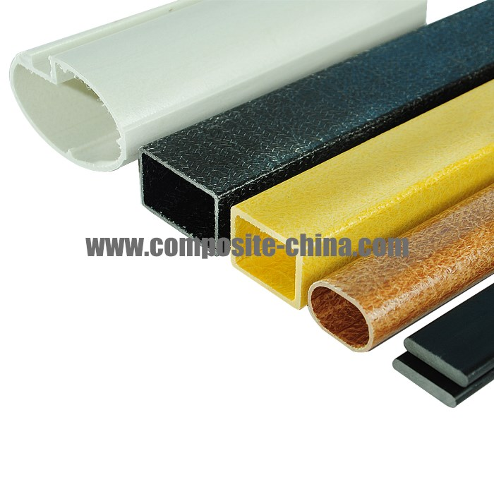 Fiberglass Extruded Tubes, Hollow Fiberglass Tubes in Different Shapes