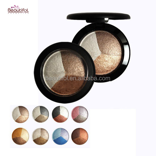 best sale long-lasting baked smudge pot cream matte metallic eyeshadow bronzer