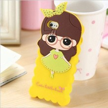 custom mobile phone silicone case for iphone 4 4s