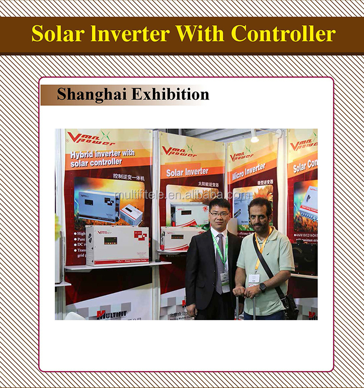 6KW 48V MPPT solar inverter with 60A charge controller