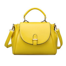 SP413 High Quality Womens Modern Retro Top Handle Bag Pu Leather Satchel Handbag
