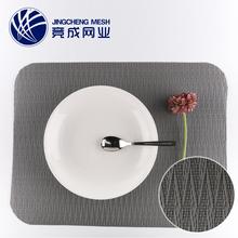 Chinese magnetic wedding polypropylene educational plate christmas felt plastic table paper pvc placemat