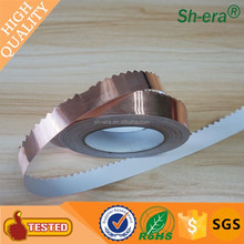 online shopping Die Cut Copper Foil Tape for soldering in OEM with fast shippment by China supplier