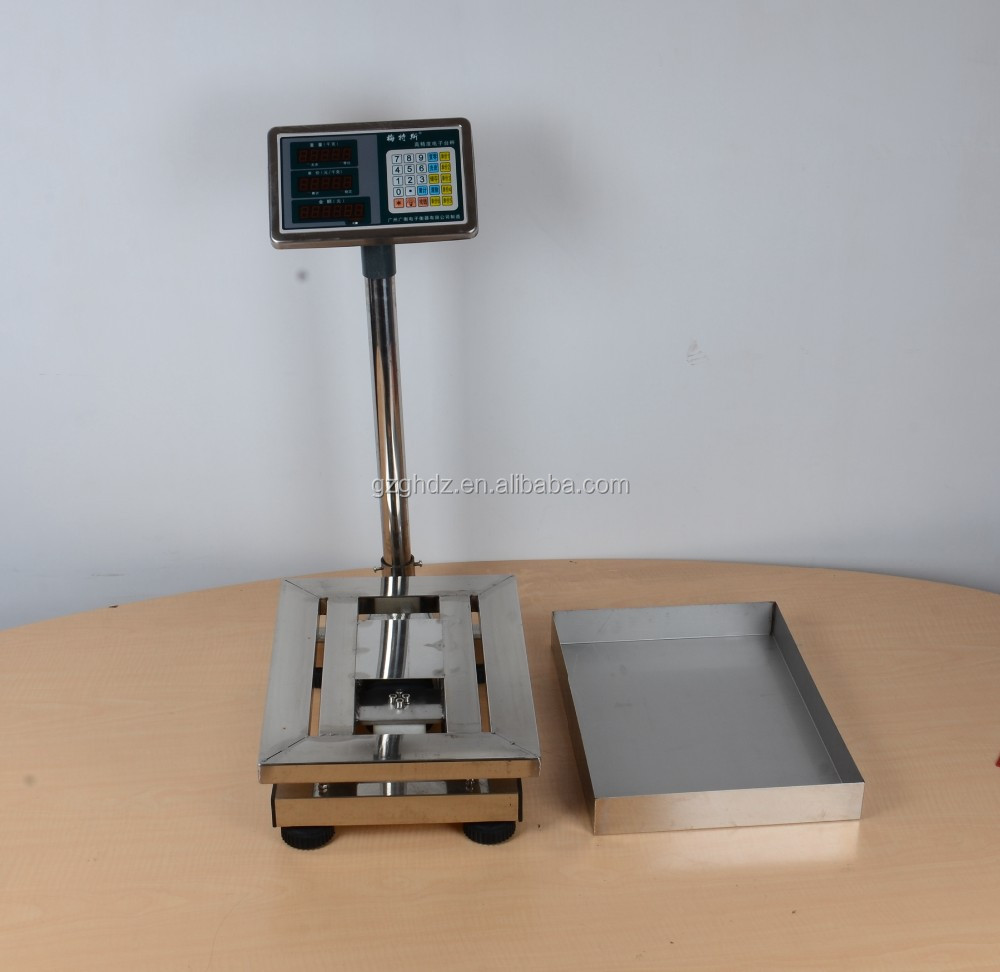 Hot in market all stainless steel price computing weighing scale