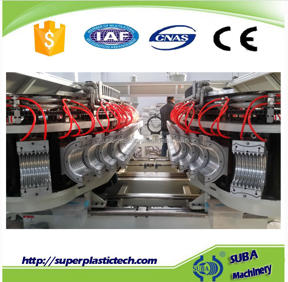 High Speed Water Cooling PE PP ABS Sewer Pipe Production <strong>Line</strong>
