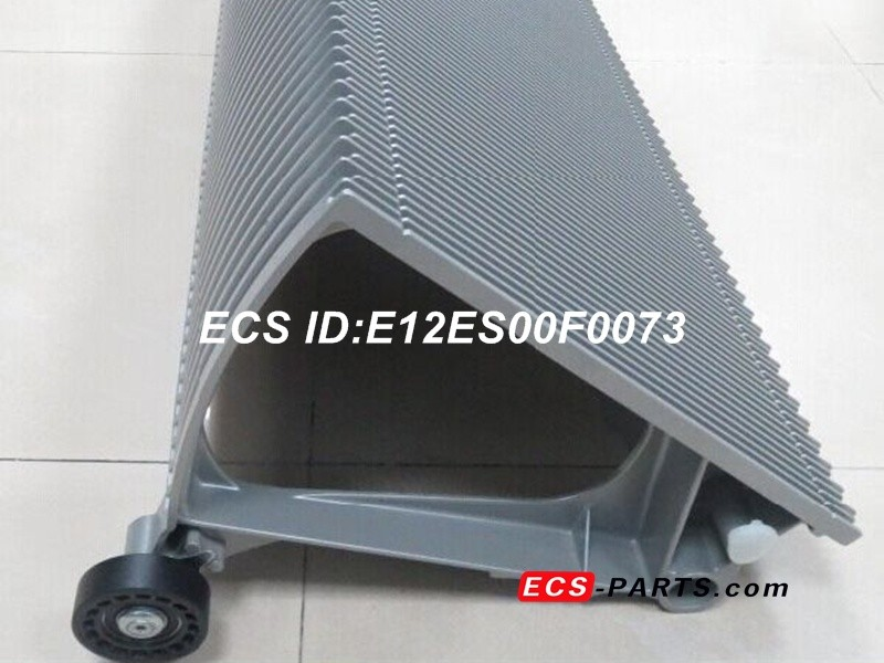 Repalcement escalator step for O&K 1000mm complete-aluminum
