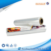 transparent pe packaging pvc cling wrap film for food wrap