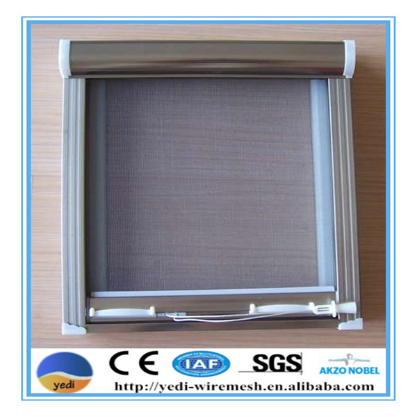 high quality low price magnetic window screen/plastic window screen