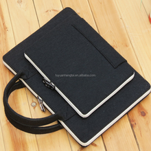 Hot Selling Felt Business Laptop Bag, Polyester Felt Laptop Bag, Felt Computer bag.