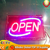 2016 alibaba express new innovation led open/close sign board for shops advertising