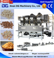 Automatic Kelloggs breakfast cereal corn flake extruder machine processing line