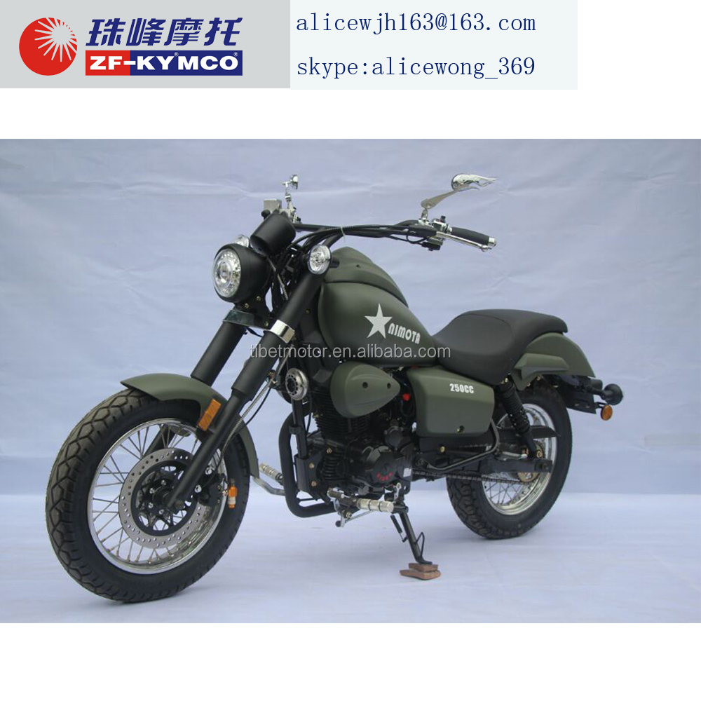 chinese cheap 250cc gas chopper motorcycle for sale(ZF250-6A)