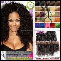 Double Weft 2016 Best Selling Cuticles Virgin Hair Wholesale Factory Price Mongolian Kinky Curly Hair Weave 4a