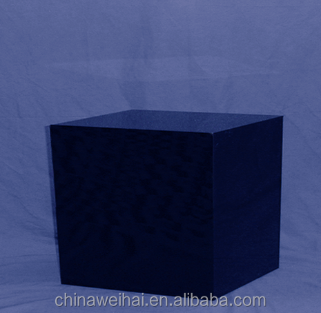 large acrylic display cube