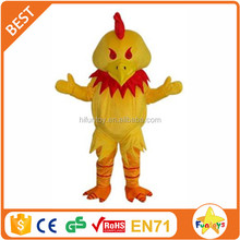 Funtoys CE make fried chicken head costume for adult