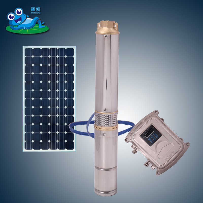 1hp dc solar submersible pump 150w solar water pump price