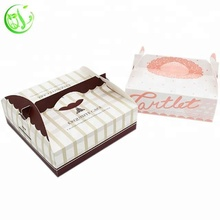 packing disposable paper food tray pizza slice box