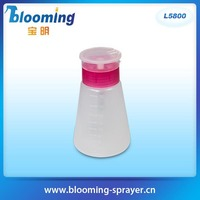 Alcohol Liquid Press nail polish remover Pumping Dispenser fancy nail polish bottle