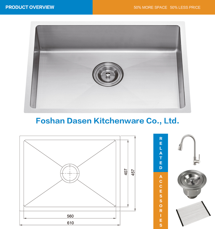 stainless steel sink undermount