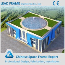 Hot Dip Galvanized Light Steel Prefab Roofing Metal Structure Church Building