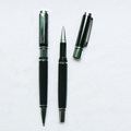 Fashion Office Smooth Fast Wrting Gel Pen,High Quality Personalized Black Metal Roller Pen,Sign Pen