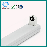Energy saving fluorescent tube bracket