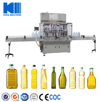 automatic olive oil bottle filling capping labeling machine line with CE,ISO9001