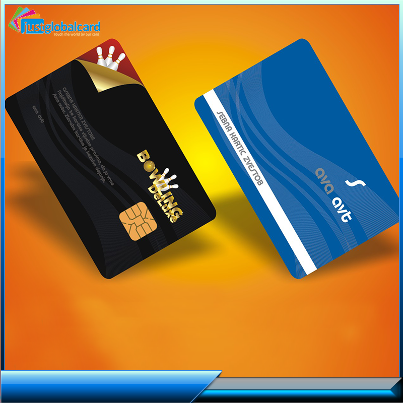 Blank visa credit cards with plastic pvc id card printer
