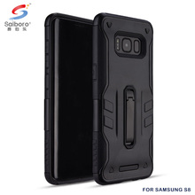 Newest arrival mobile phone accessories black case for samsung galaxy s8