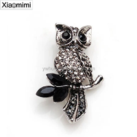 Retro Hot Features cute owl sitting in a tree brooch popular