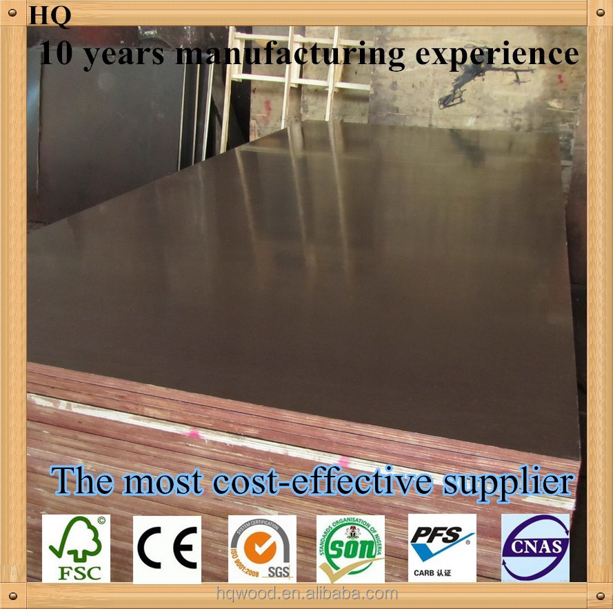 china cheap price 2015 new construction material /film faced plywood