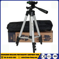 wholesale weifeng wt 3110a flexible lightweight aluminium alloy camera cellphone 3 way mini tripod for ipad dslr camera