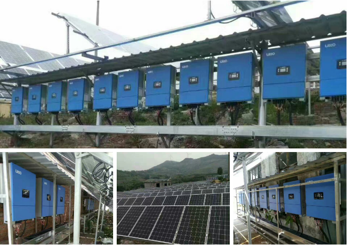98.5% High Efficiency Dual MPPT Solar Power on Grid Tie homage pure sine wave inverter