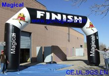 cheap inflatable arch for sale/advertising Inflatable finish line Arch for sport
