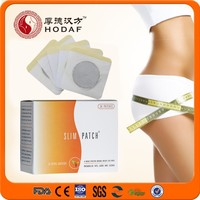 Chinese herb magnetic slimming patch Natural herbal weight loss slimming patch