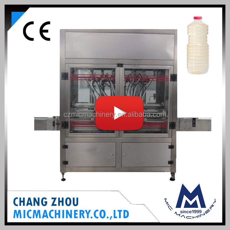 MIC manufactory massage lubricant oil or coconut oil cartridge pet bottle filling capping and packing machine