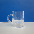 Plastic shot glass cup with handle for vodka