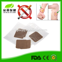 100% natural and safe China cheap herbal anti smoke patch nicotine patch