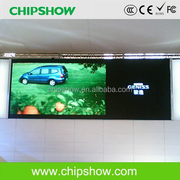 P4 indoor full color aluminium cabinet advertising led display board