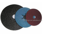 Fiber disc sand paper for grinding and polishing