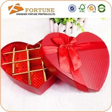 Wholesale Custom Luxury Paper Chocolate Box For Wedding Invitation