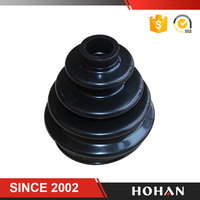 auto rubber dust boot C V boots universal cv boots for Toyota