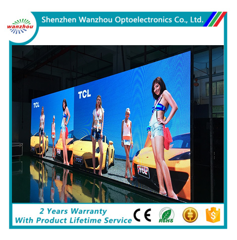 True color indoor smd P2 P3 P4 P5 P6 P7.62 P10 advertising/ stage video led display screen
