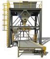 China bulk bag 500-1000kg pack machine